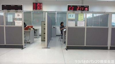 イミグレーションオフィス バンコク(Immigration Office Bangkok)