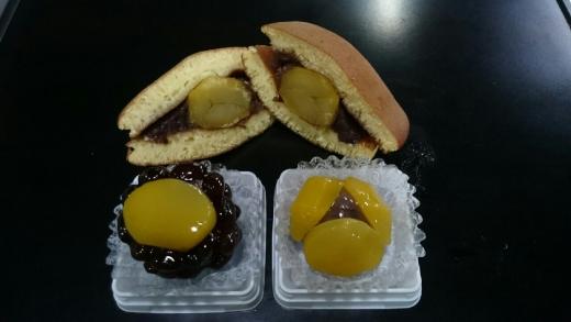 清月 栗どらやき、栗かの子、栗上生菓子