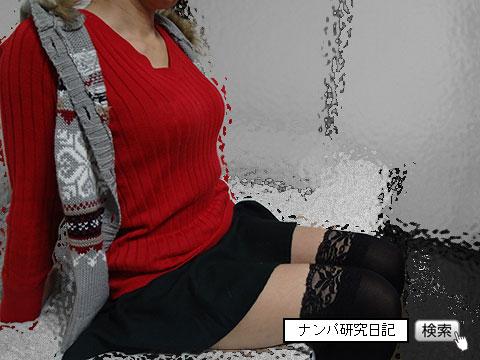【路上・リアルナンパ】 ニーハイ老女 準即(グロ注意)_03