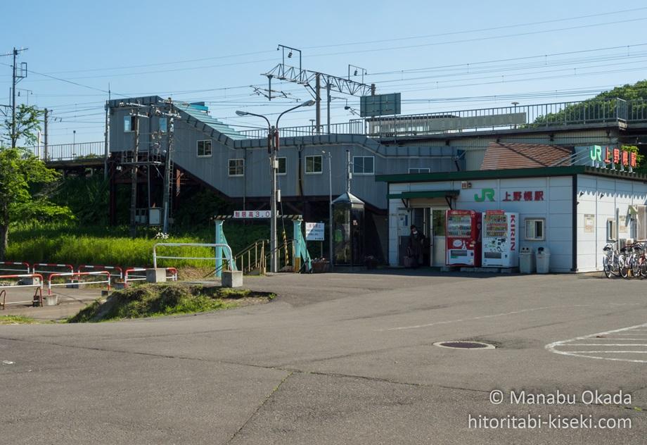 上野幌駅の駅舎.jpg