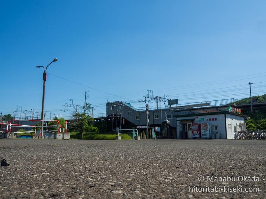 上野幌駅の全景