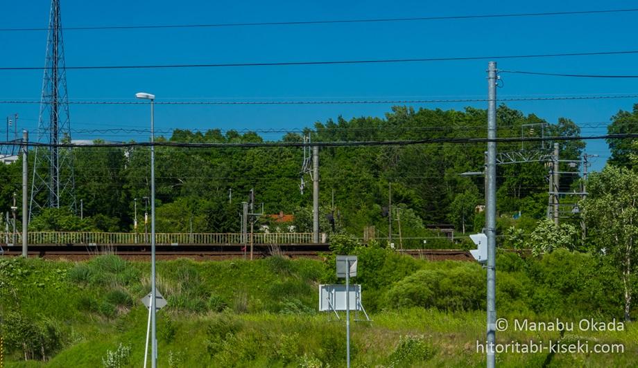 鉄道の高架
