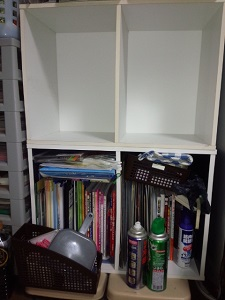 居間のカラーボックス3