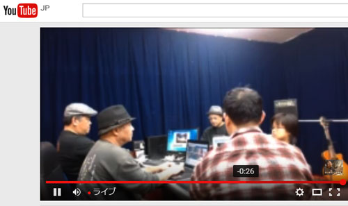 YouTubeLIVE配信 wirecast