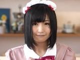 【ごっくん】可愛い黒髪メイドのノーハンドごっくんフェラ【メイド】