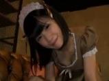 【メイド】可愛いメイドの女の子の手コキ【女の子】