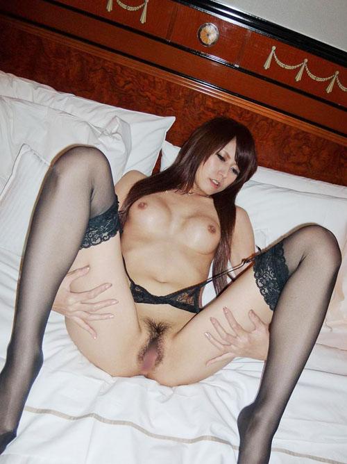 OL風巨乳AV女優のど変態セックス画像