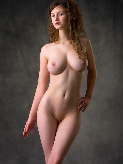 美巨乳!天使のエクボ付き美尻!白い肌!股間を熱くするパーフェクト・エロボディww