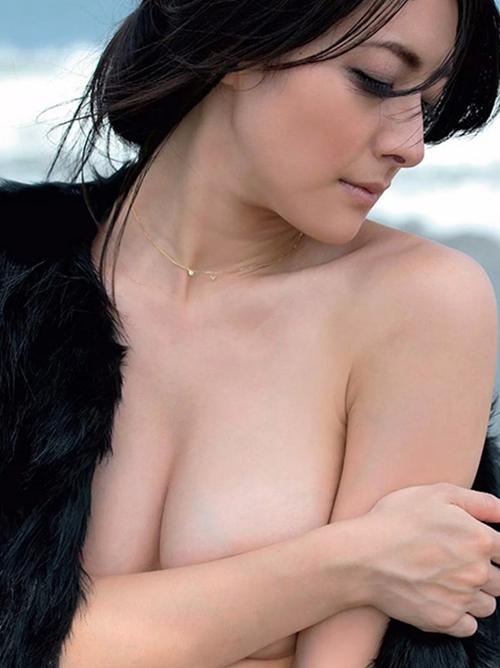 【川村りか】33歳熟女セミヌード(・ω・ノ)88㎝天然Gカップ巨乳おっぱい