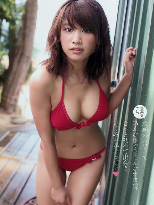 久松郁実 1st写真集の手ブラセミヌードが、19歳JDモデルらしからぬエロさ! #エロ画像 77枚