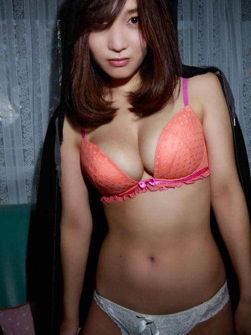 橘花凛(25) 癒し系Hカップの誘惑。画像×36
