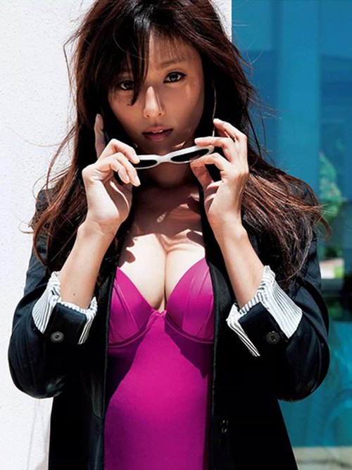 【深田恭子】美熟女アラサーボディーが堪らん(・ω・ノ)美乳美尻ムッチリ下着グラビア