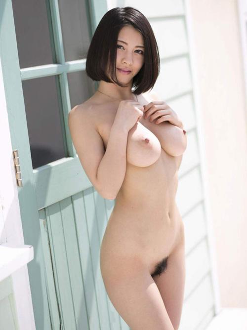 松岡ちな(21) 100点満点のぷるぷる巨乳と美尻で大満足。画像×22