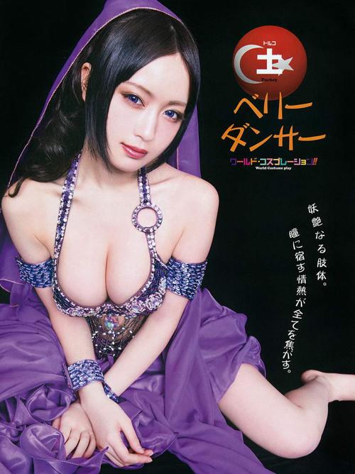 御伽ねこむ(21) インパクト絶大な世界のセクシーコスチューム。画像×7