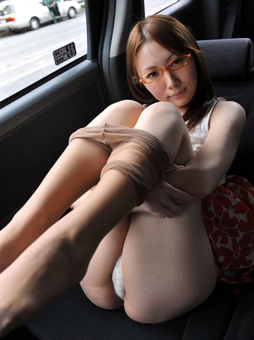 オトナの女がやるパンスト脱ぎ掛けのエロ画像 part6