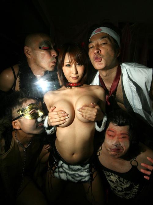 日本昔ばなしをAVにするとこうなる