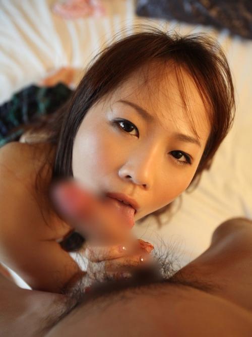 【フェラチオエロ画像】裏筋をツーッと舐められた時のゾクゾクする刺激が堪らん!