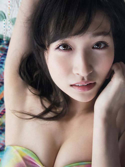 【横山ルリカ】アイドリングに在籍してた女性シンガーのセクシーな表情と瞳画像