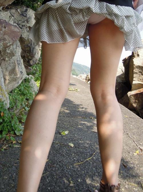 【太ももエロ画像】綺麗な脚をした女の子を彼女にしたい~!!