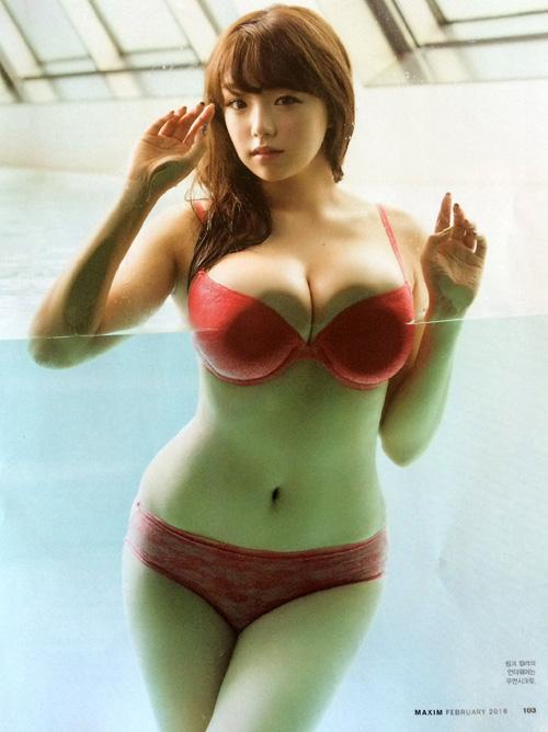 韓国で人気爆発の篠崎愛グラビアがエロい