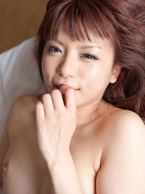 【栗林里莉】クリ舐め手マンされた美乳おっぱい全裸ヌード画像35枚