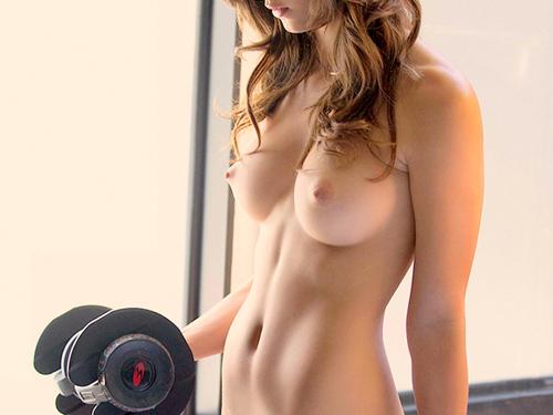 【海外エロ画像】巨乳で細身が当たり前!レベル高すぎ碧眼の裸女たちwww