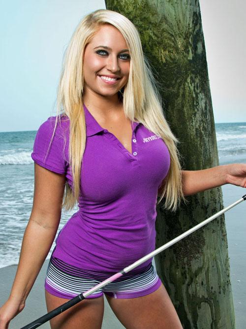 (女子アスリート特集)美巨乳過ぎるえろえろ女子プロゴルファー『メーガンハーディン』の胸の膨らみが・・・(汗)