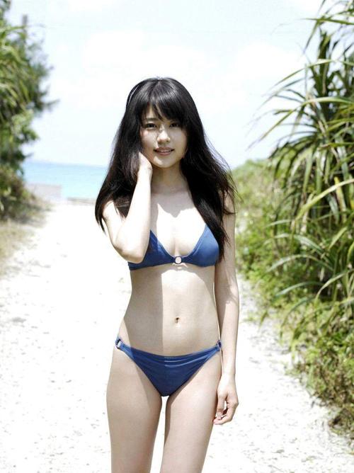 有村架純(23) 清純派女優の貴重な水着と生脚。グラビア画像×89