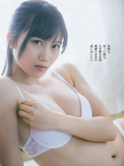 ランク王国のあの美少女!加藤里保菜(20)の水着グラビア画像×5