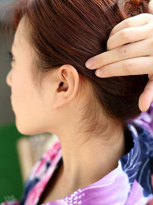 耳フェチ画像 綺麗な形の耳 150枚