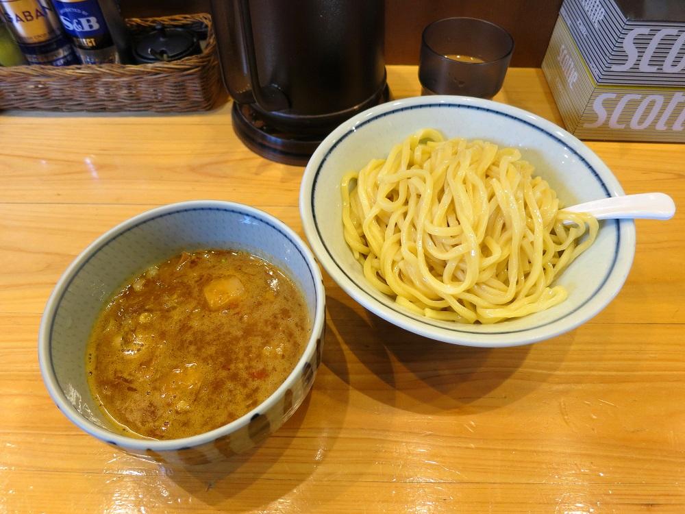 辛煮干つけ麺1