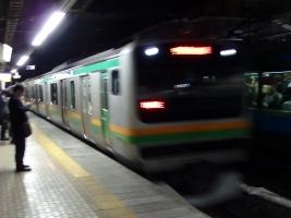 初乗車になる上野東京ラインで品川から宇都宮へ移動しました。
