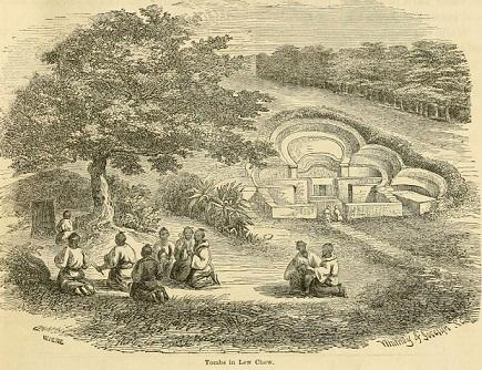 ペリー『日本遠征記』に描かれた亀甲墓