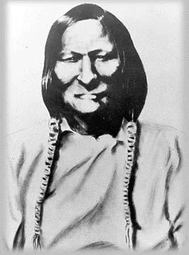 シャイアン族のモケタヴァト(ブラックケトル)酋長