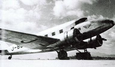 大日本航空の中島AT-3