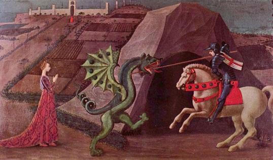 『聖ゲオルギウスの竜退治』