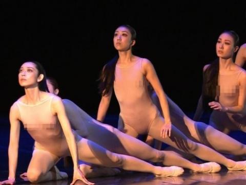 【エロ画像】(芸術?)NHK・Eテレ、モデルダンサーのビーチクと男性ダンサーのイチモツがモロわかりwwwwwwwwwwwwwwwwwwwww