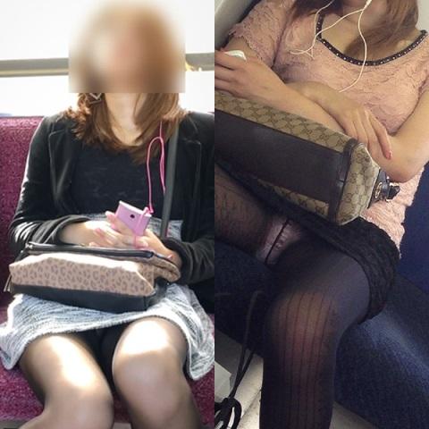 【エロ画像】(秘密撮影23人)お疲れなお姉さんオネエさん達が列車で熟睡してパンツ丸見えだったぜぇーwwwwwwwwwパ○チラ見放題って超最高だぜぇーwwwwwwwww
