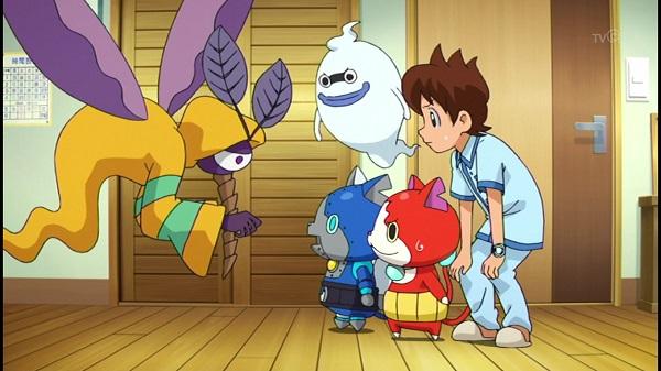 ゲームアニメ 妖怪ウォッチ 84話 かゆかゆ ウスラカゲ 感想 ターミネーター パロディ