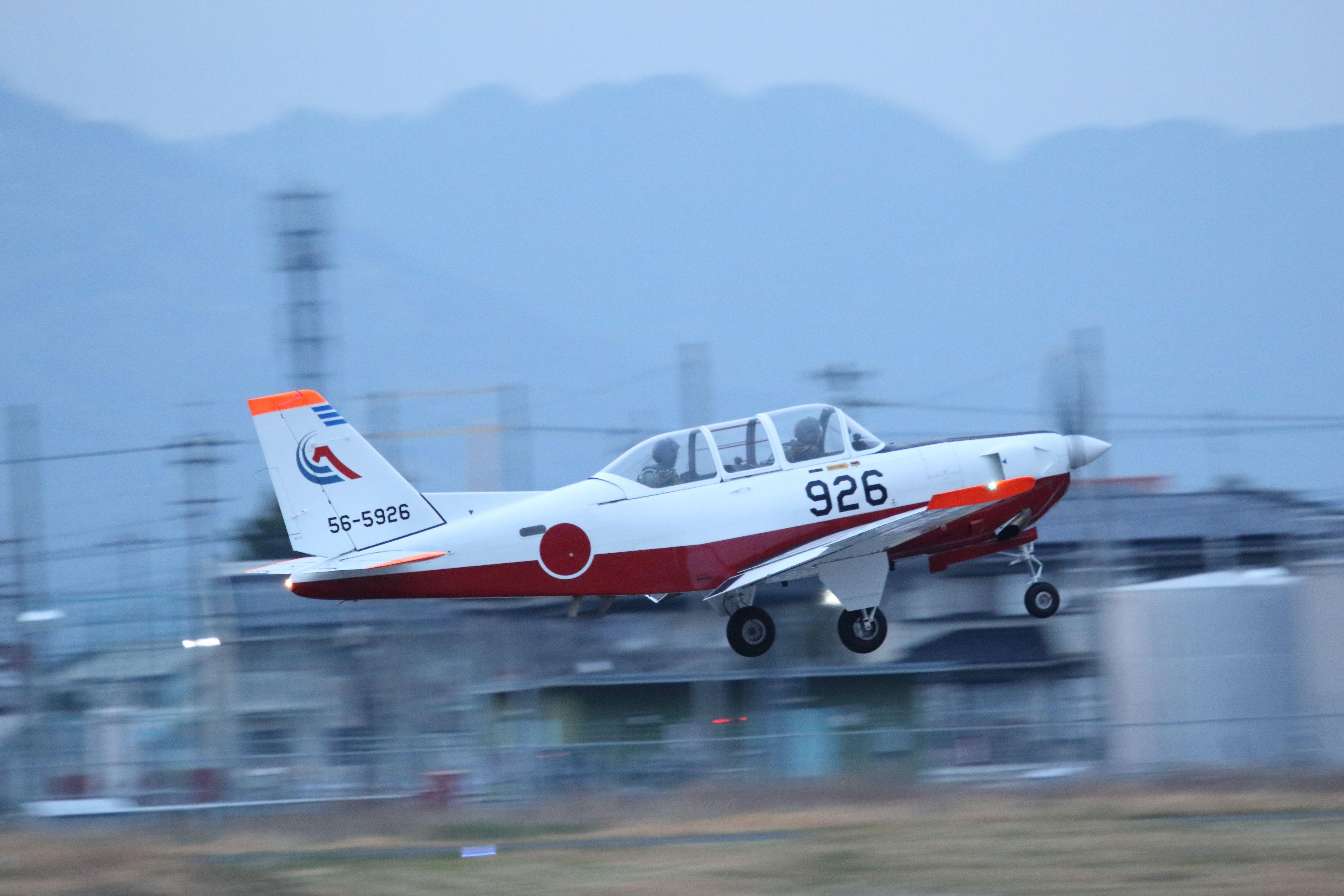 静浜基地 夜間飛行訓練 002