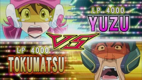 戸惑う柚子と長次郎