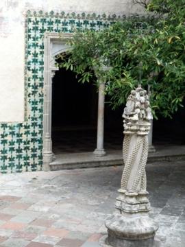 ポルトガル083シントラ王宮