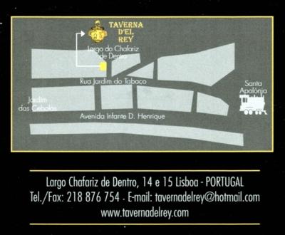 ポルトガル109TAVERNA DEL REY