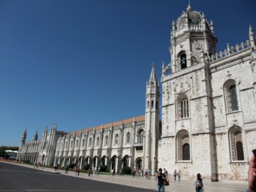 ポルトガル112ジェロニモス修道院