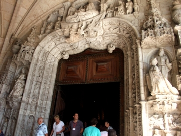 ポルトガル125ジェロニモス修道院