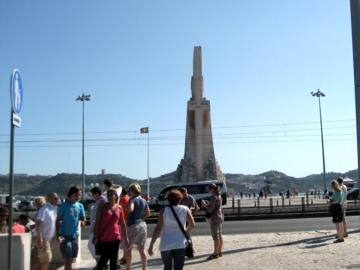 ポルトガル136発見のモニュメント