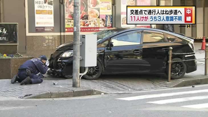 東京 吉祥寺で車が突っ込み複数のけが人 ->画像>113枚