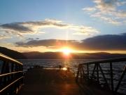 十和田湖の夕暮れ