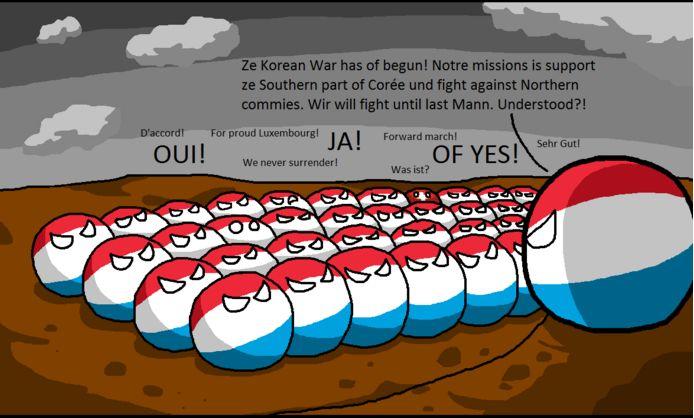 ルクセンブルクが朝鮮戦争で助けになる助けをするよ (2)
