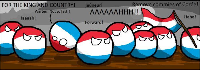 ルクセンブルクが朝鮮戦争で助けになる助けをするよ (3)